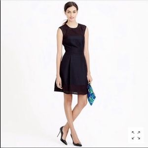 J Crew Perforated A Line Dress